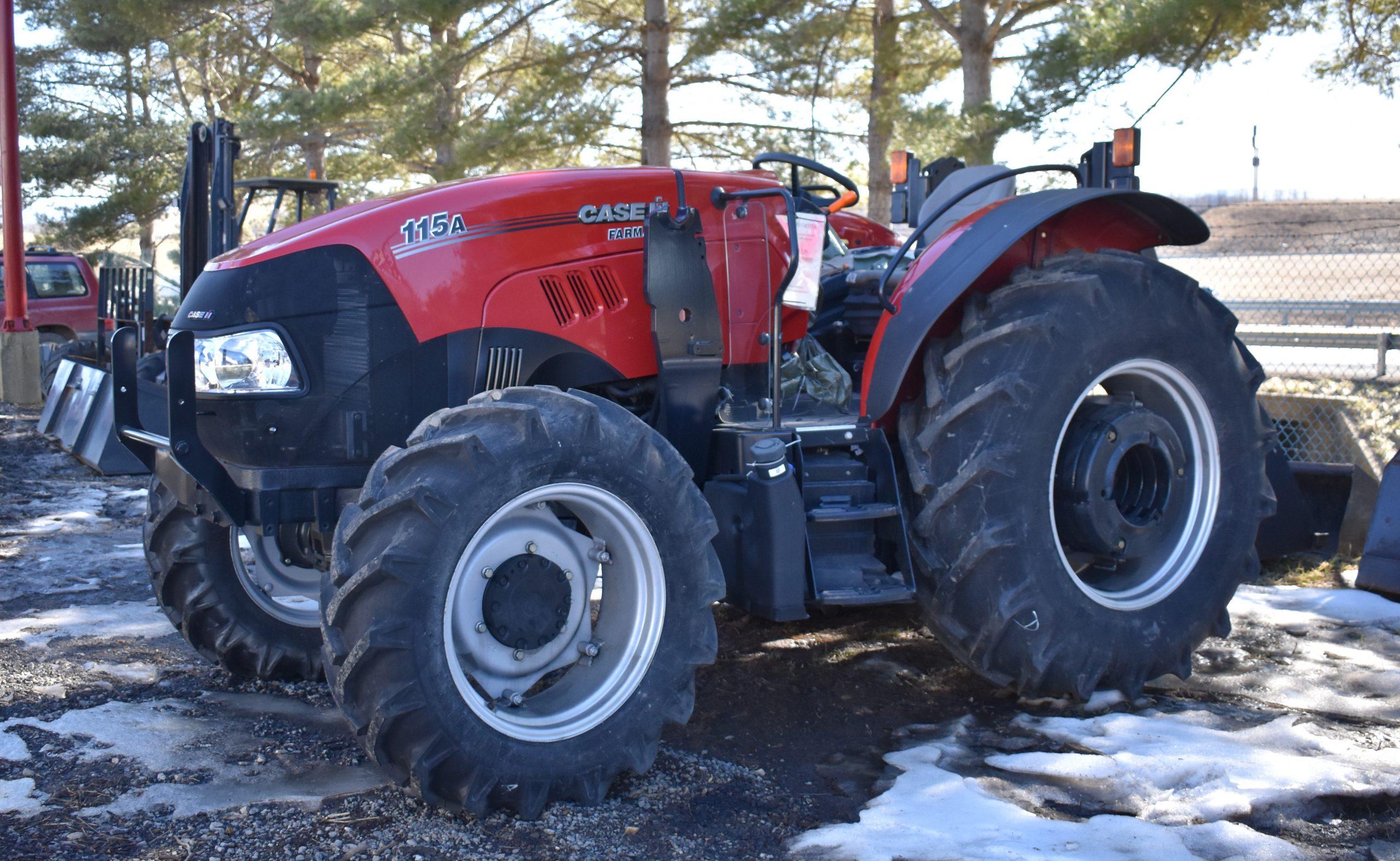 Farmall 115A Rops Image